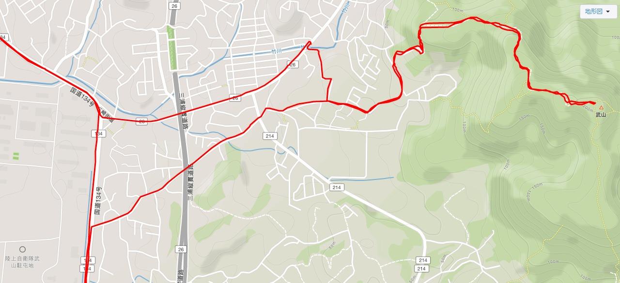 武山不動院の地図