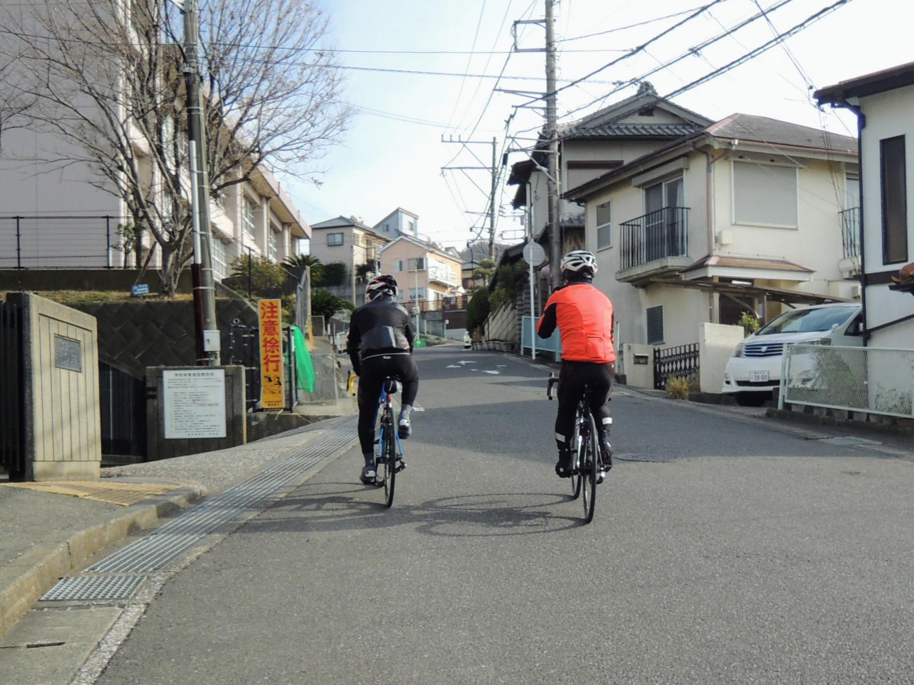 武山不動院へのアプローチ