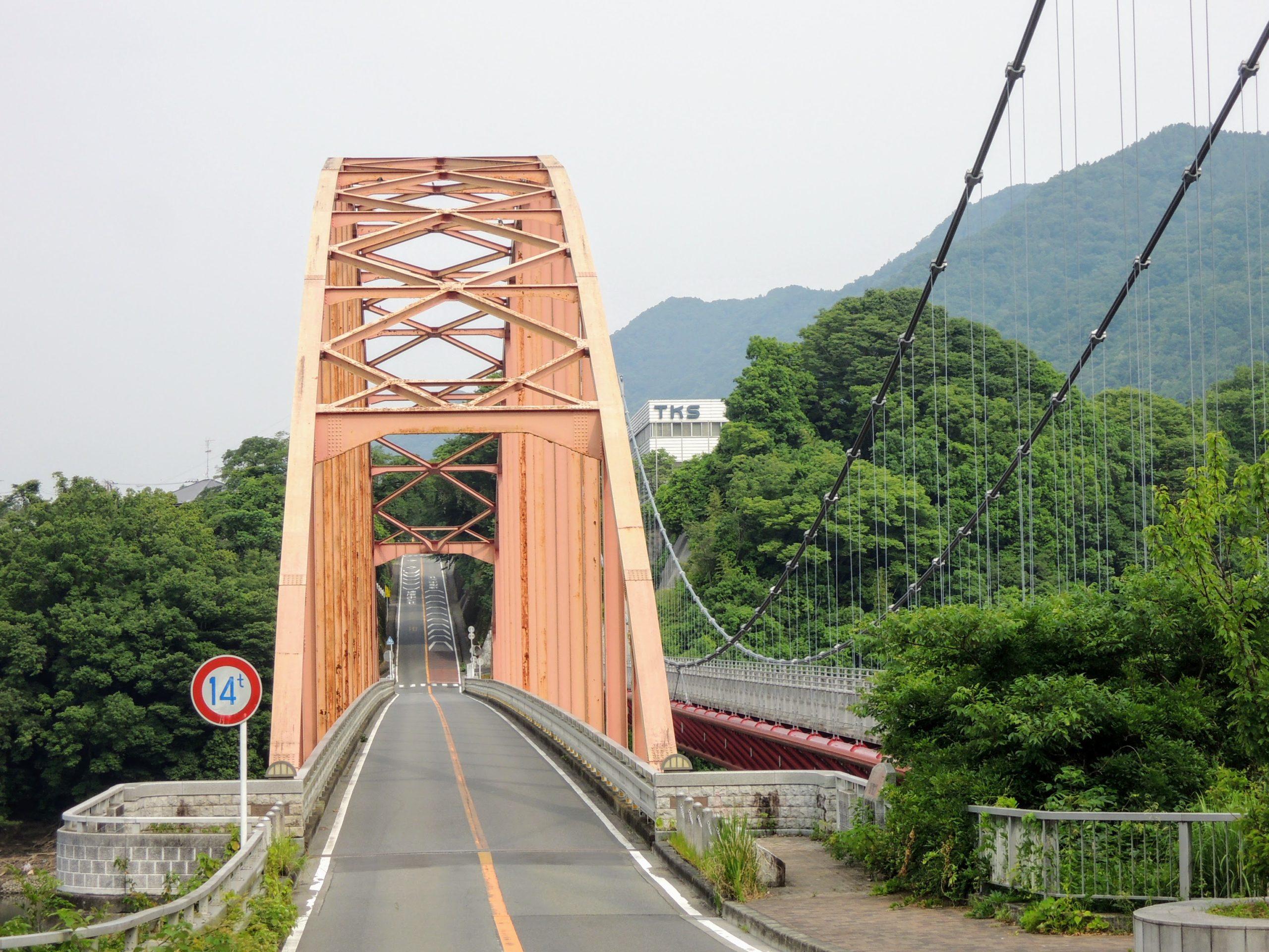 津久井湖にかかる三井大橋