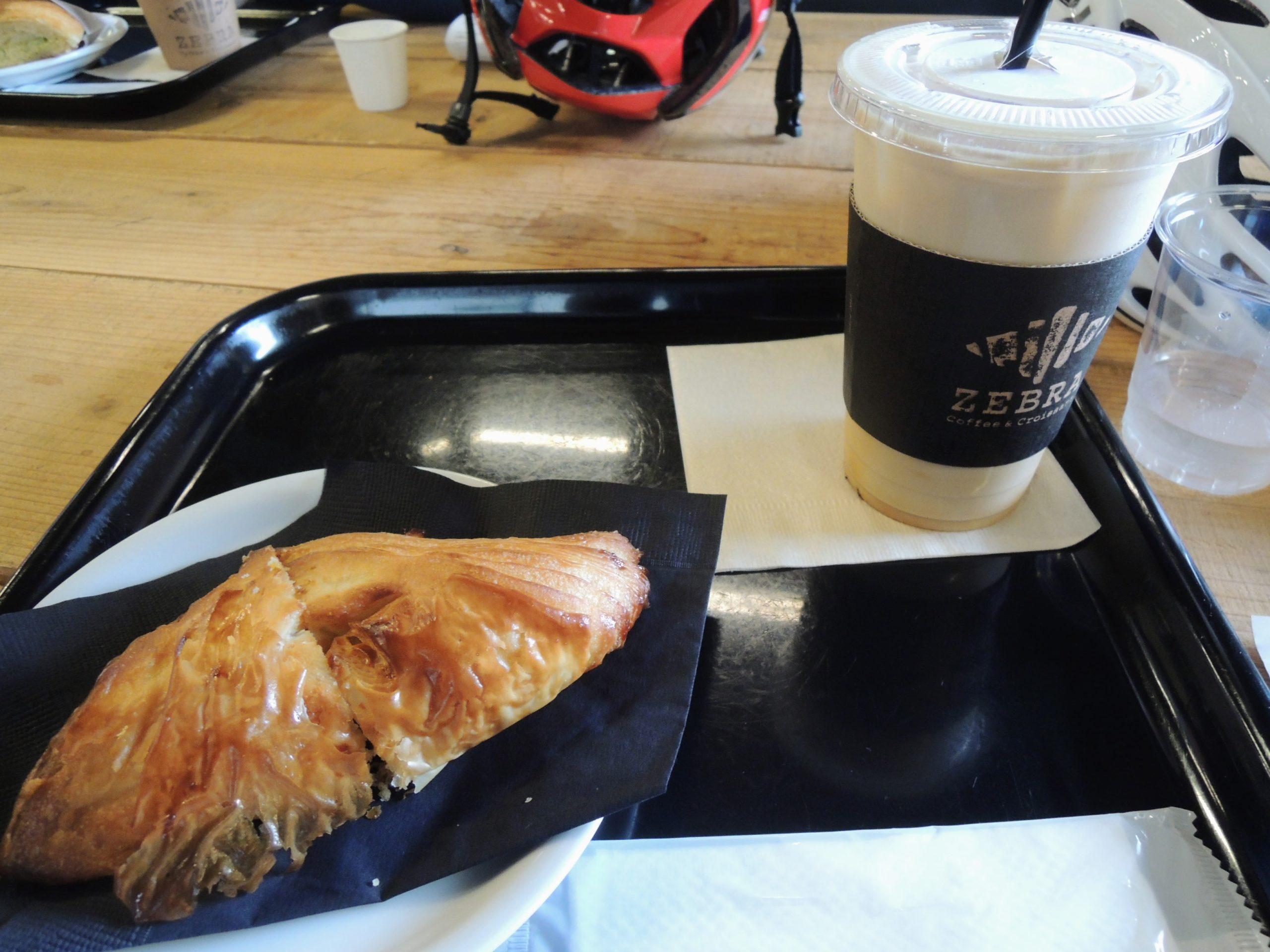 ゼブラコーヒーにて