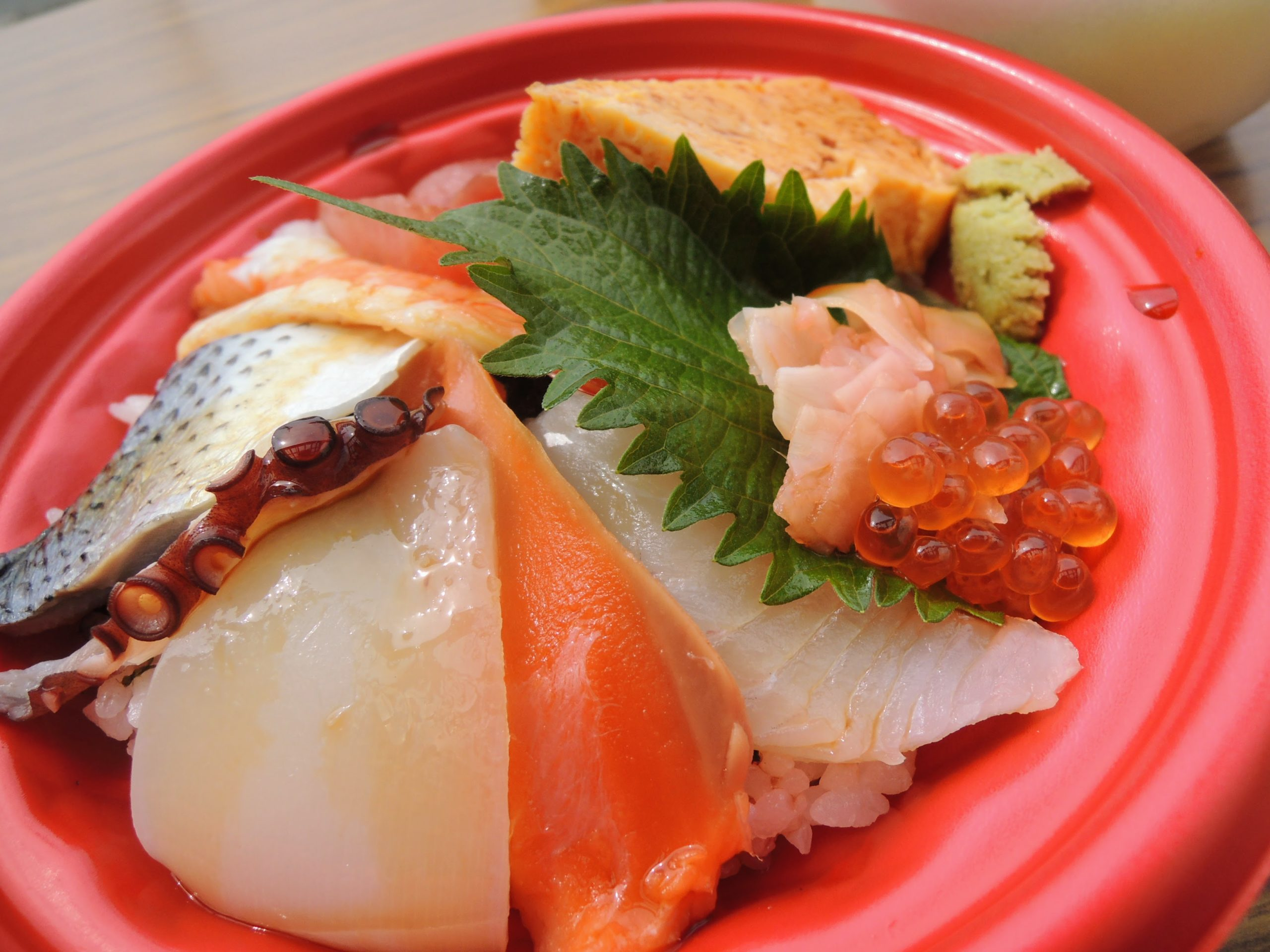 500円+税のコスパ海鮮丼
